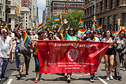 New York, NY - 25 June 2017. New York City Heritage of Pride March filled Fifth Avenue for hours with groups from the LGBT community and it's supporters. New York City Public Advocate Letitia James.