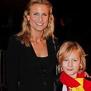 NLD/Utrecht/20101116 - Premiere Harry Potter, Sjimmy Bruijninckx en zoon Thijs