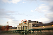 View of Union Station in Denver, Colorado.