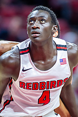 Abdou Ndiaye Illinois State Redbird basketball player photos