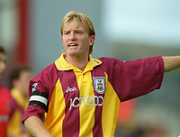 Stuart McCall - Bradford. Bradford City 1:1 Arsenal, F.A. Carling Premiership, 9/9/2000. Credit Colorsport / Stuart MacFarlane.