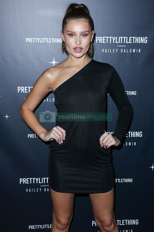 WEST HOLLYWOOD, LOS ANGELES, CA, USA - NOVEMBER 05: PrettyLittleThing X Hailey Baldwin Launch Event held at Catch LA Restaurant on November 5, 2018 in West Hollywood, Los Angeles, California, United States. 05 Nov 2018 Pictured: Lexi Wood. Photo credit: Xavier Collin/Image Press Agency/MEGA TheMegaAgency.com +1 888 505 6342