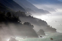 Fog along the Big Sur Coast