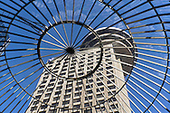 Downtown Vancouver's Harbour Centre houses a revolving restaurant, the downtown campus to Simon Fraser University and Harbour Centre Mall.
