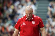 BASKETBALL: VTG Supercup 219, Deutschland - Polen, Hamburg, 18.08.2019<br /> Trainer Mike Taylor (Polen, auch Hamburg Towers)<br /> © Torsten Helmke