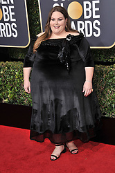 Chrissy Metz at the 75th Golden Globe Awards held at the Beverly Hilton in Beverly Hills, CA on January 7, 2018.<br /><br />(Photo by Sthanlee Mirador)