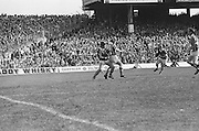 Cork and Kilkenny players clash over possession of the ball during the beginning of the All Ireland Senior Hurling Final, Cork v Kilkenny in Croke Park on the 3rd September 1972. Kilkenny 3-24, Cork 5-11.