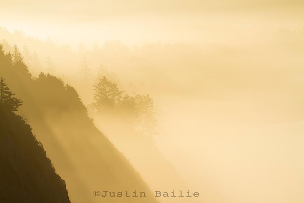 Scenic image of Manzanita, Oregon at sunrise.