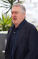 Actor Robert De Niro at the Hands Of Stone film photo call at the 69th Cannes Film Festival Monday 16th May 2016, Cannes, France. Photography: Doreen Kennedy