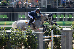 Lopez Rene, COL, Con Dios III<br /> owner of the horse of Jerome with arms in the air<br /> Olympic Games Rio 2016<br /> © Hippo Foto - Dirk Caremans<br /> 14/08/16