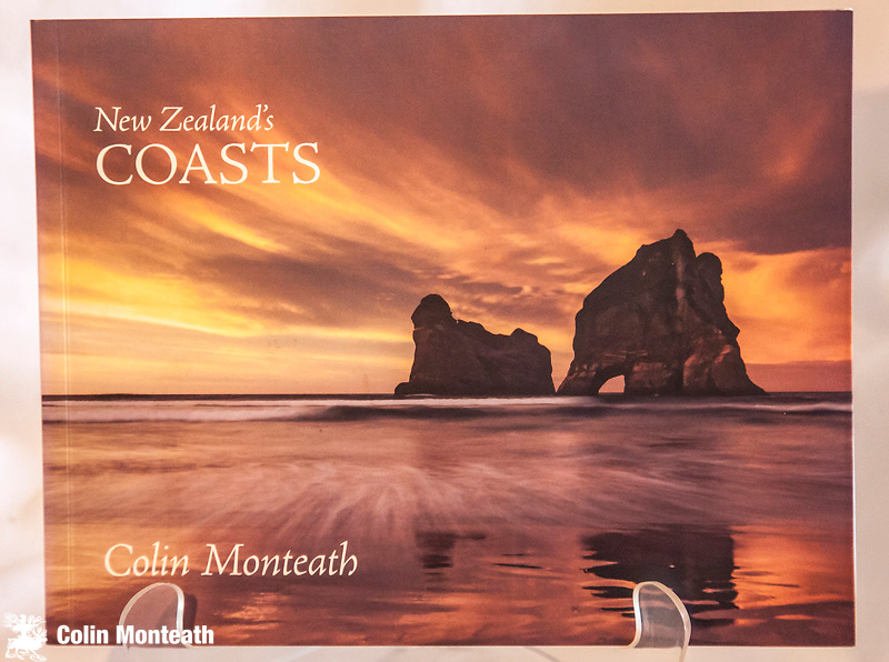 NEW ZEALAND'S COASTS - Signed Colin Monteath, David Ling, Auckland, 2009, 96 page softbound, new copy, Essay & collection of images....a souvenir of New Zealand coastal landscapes _ $NZ30