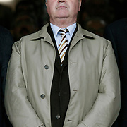 The new head coach of Turkey's national soccer team, Guus HIDDINK during their Turkish superleague soccer derby match Galatasaray between Fenerbahce at the AliSamiYen Stadium at Mecidiyekoy in Istanbul Turkey on Sunday, 28 March 2010. Photo by Aykut AKICI/TURKPIX