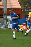 Peter Thompson. Stockport County FC 1-2 Colchester United FC. Coca-Cola League 1. 18.8.08