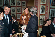 ELLIANNE FATALL, Graydon Carter hosts a diner for Tom Ford to celebrate the London premiere of ' A Single Man' Harry's Bar. South Audley St. London. 1 February 2010