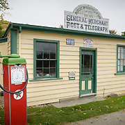 Disuesed petrol station at Cardona, New Zealand