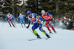 Jay Renaud of France during 6 x 1.2 km Team Sprint Free race at FIS Cross Country World Cup Planica 2016, on January 17, 2016 at Planica, Slovenia. Photo By Grega Valancic / Sportida