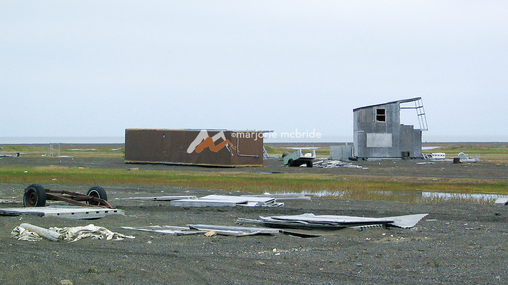 Barrow Alaska, the most northernly point in the USA.