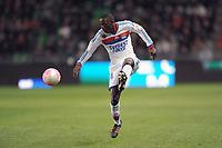 FOOTBALL - FRENCH CHAMPIONSHIP 2011/2012 - L1 - STADE RENNAIS v OLYMPIQUE LYONNAIS - 1/04/2012 - PHOTO PASCAL ALLEE / DPPI - MOUHAMADOU DABO (OL)