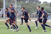 Soccer-USMNT Training-Jan 10, 2020