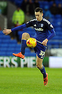 Tom Lawrence of Cardiff city in action. Skybet football league championship match, Cardiff city v MK Dons at the Cardiff city stadium in Cardiff, South Wales on Saturday 6th February 2016.<br /> pic by Carl Robertson, Andrew Orchard sports photography.
