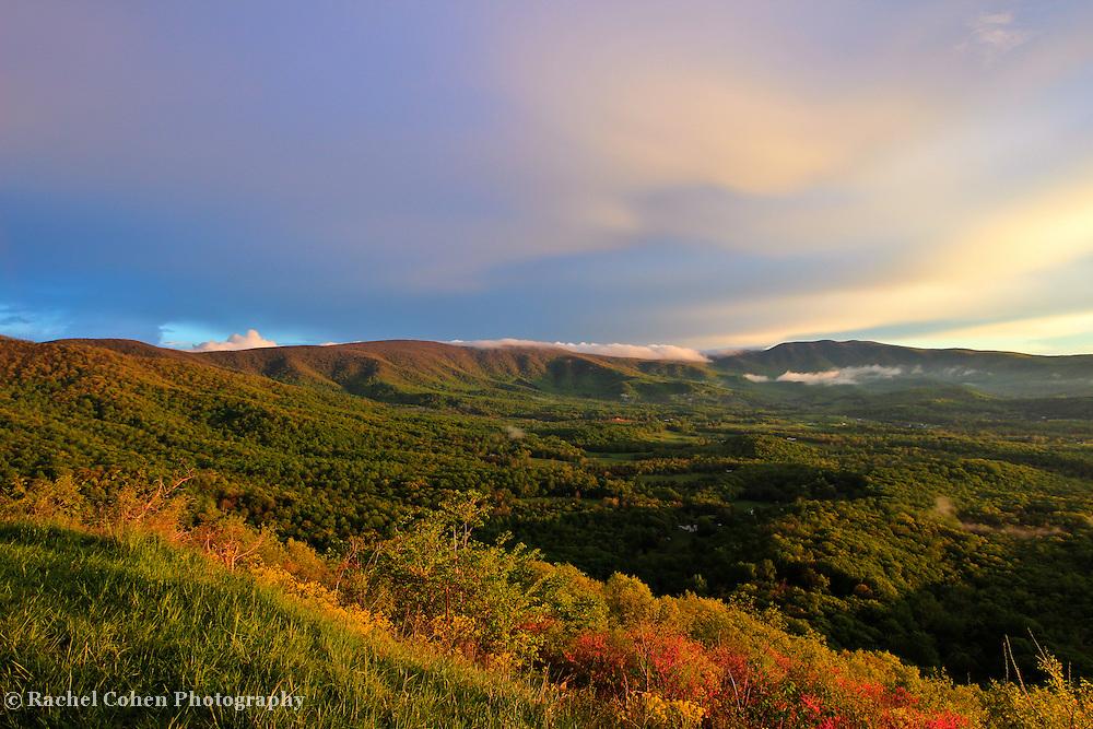 """Blue Ridge Spring""<br /> <br /> The wondrous beauty of The Blue Ridge Mountains during spring!!<br /> <br /> The Blue Ridge Mountains by Rachel Cohen"