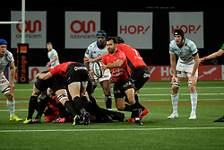 April 8, 2018 - Nanterre, Hauts de Seine, France - RC Toulon scrum half ERIC ESCANDE in action during the French rugby championship Top 14 match between Racing 92 and RC Toulon at U Arena Stadium in Nanterre - France..Racing 92 Won  17-13. (Credit Image: © Pierre Stevenin via ZUMA Wire)
