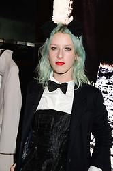 HARRIET VERNEY at the opening of the Tiger of Sweden Store, 210 Piccadilly, London on 3rd October 2013.