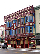 The historic Windsor Hotel built in 1896 and now the Greenwood Saloon and Inn, Greenwood, British Columbia, Canada