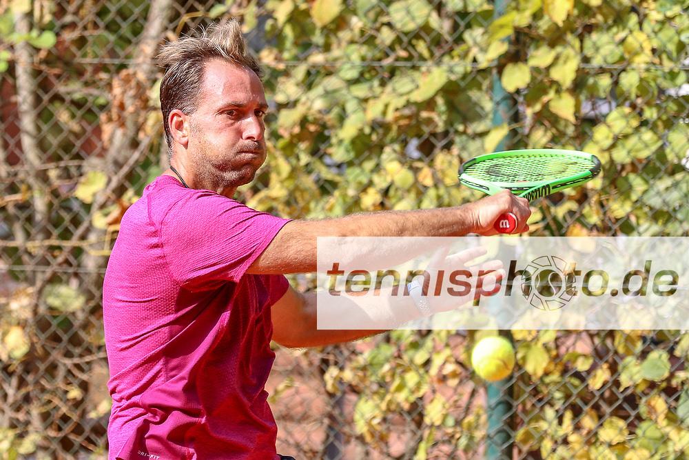 Timo Pohle (SV Reinickendorf 1896), Grunewald Open 2018 - Senioren, Finals, Berlin, 16.09.2018, Foto: Claudio Gärtner