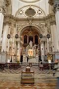 Italy, Venice, Santa Maria della Salute Interior