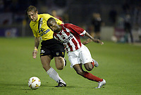 breda 28-08-2004 voetbal nac - psv uitslag 2-2<br /> psv speler damarcus beasley in aktie voor psv tijdens deze wedstrijd<br /> NORWAY ONLY