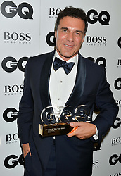 ANDRE BALAZS winner of the Entrepreneurl Award at the GQ Men Of The Year 2014 Awards in association with Hugo Boss held at The Royal Opera House, London on 2nd September 2014.