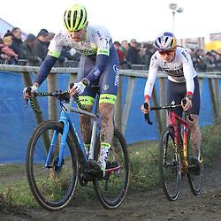 01-01-2020: Wielrennen: DVV trofee veldrijden: Baal:Corne van Kessel