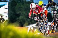 #210 (CHRISTENSEN Simone Tetsche) DEN [Wiawis, Odum, Avian] at Round 7 of the 2019 UCI BMX Supercross World Cup in Rock Hill, USA