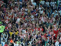 June 21, 2018 - Nizhny Novogorod, Russia - Group D Argentina v Croazia - FIFA World Cup Russia 2018.Croatia supporters celebrate at Nizhny Novgorod Stadium, Russia on June 21, 2018. (Credit Image: © Matteo Ciambelli/NurPhoto via ZUMA Press)