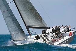08_00129 © Sander van der Borch. Valencia - Spain,  1st may 2008 . TP52 Mean Machine Sea Trials in Valencia.