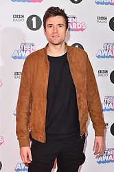 Greg James attending the BBC Radio 1 Teen Wards, at Wembley Arena, London. Picture date: Sunday October 22nd, 2017. Photo credit should read: Matt Crossick/ EMPICS Entertainment.