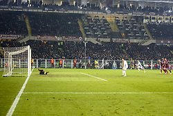 December 15, 2018 - Turin, Piedmont, Italy - Cristiano Ronaldo (Juventus FC) scores the penalty of the victory during the Serie A football match between Torino FC and Juventus FC at Olympic Grande Torino Stadium on December 15, 2018 in Turin, Italy. Torino lost 0-1 against Juventus. (Credit Image: © Massimiliano Ferraro/NurPhoto via ZUMA Press)
