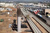 Train Station under Construction near LAX