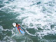 Female Surfer on a Longboard