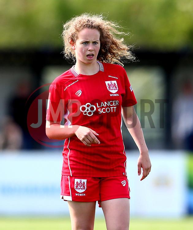 Emily Syme of Bristol City Women - Mandatory by-line: Robbie Stephenson/JMP - 03/06/2017 - FOOTBALL - Stoke Gifford Stadium - Bristol, England - Bristol City Women v Arsenal Ladies - FA Women's Super League Spring Series