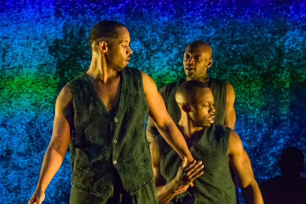 Prometheus performance of Descent-dance on March 23rd at Walnut Hill Theater, Natick