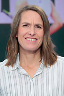 Justine Henin (tennis consultant for France Television Group), live on the set of the TV program during the Roland Garros 2020, Grand Slam tennis tournament, on October 2, 2020 at Roland Garros stadium in Paris, France - Photo Stephane Allaman / ProSportsImages / DPPI