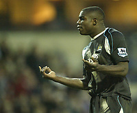 Photo: Aidan Ellis.<br /> Blackburn Rovers v Manchester City. The FA Cup. 11/03/2007.<br /> City's Micah Richards responds to abuse from his own fans
