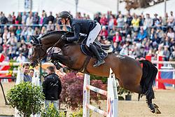 TEBBEL Maurice (GER), Don Diarado<br /> Mannheim - Maimarkt Turnier 2019<br /> -DIE BADENIA- <br /> Großer Preis der MVV<br /> Int. Springprüfung mit Stechen (1.60 m)<br /> 07. Mai 2019<br /> © www.sportfotos-lafrentz.de/Stefan Lafrentz