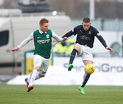 Falkirk's John Baird. <br /> Falkirk 1 v 1 Hibernian, Scottish Championship game played 17/1/2015 at The Falkirk Stadium.