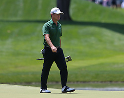 June 22, 2018 - Cromwell, Connecticut, United States - Brian Harman walks off the 8th green during the second round of the Travelers Championship at TPC River Highlands. (Credit Image: © Debby Wong via ZUMA Wire)