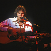 Neil Young plays the Seattle Coliseum, Seattle on 7-28-1983.