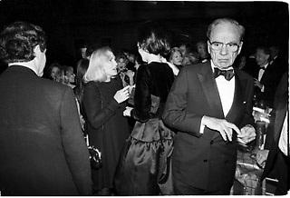 Rupert  Murdoch. New York magazine celebration. Metropolitan Museum. New York. 1993. Film 93286f32<br /> © Copyright Photograph by Dafydd Jones<br /> 66 Stockwell Park Rd. London SW9 0DA<br /> Tel 0171 733 0108