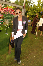 Actress Sophie Okonedo at the 2005 RHS Chelsea Flower Show on 23rd May 2005<br /><br />NON EXCLUSIVE - WORLD RIGHTS